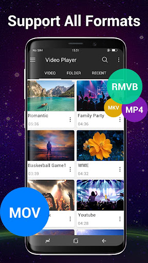 Video Player All Format for Android 1.7.2 Screenshots 4