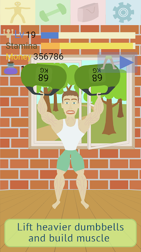 Muscle clicker: Gym game  screenshots 3