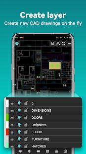 DWG FastView-CAD Viewer & Editor screenshots 4