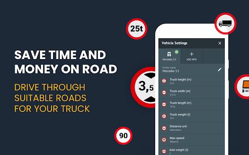 RoadLords - Free Truck GPS Navigation android2mod screenshots 2