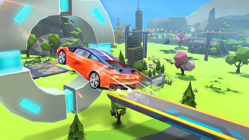 Mega Ramps - Galaxy Racer 1.0.4 screenshots 5