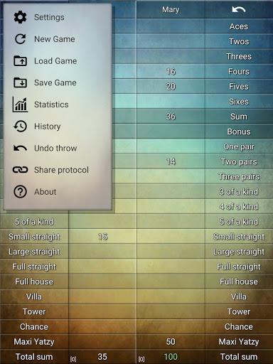 Yatzy Protocol & game screenshots 11