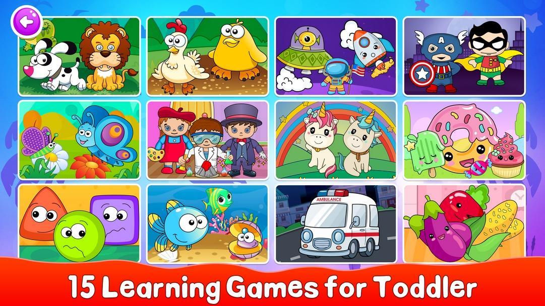 Toddler Puzzle Games screenshot 1