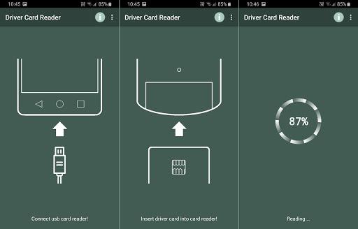 Driver Card Reader  Screenshots 9