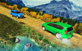 Mountain Car Driving Prado Game: Luxury Jeep 2020