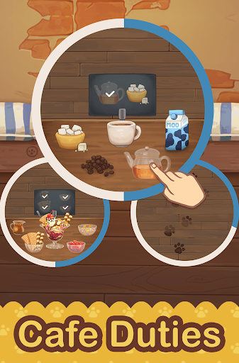 Furistas Cat Cafe - Cute Animal Care Game 2.700 screenshots 14