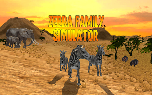 Zebra Family Simulator  Download For Pc (Install On Windows 7, 8, 10 And  Mac) 1