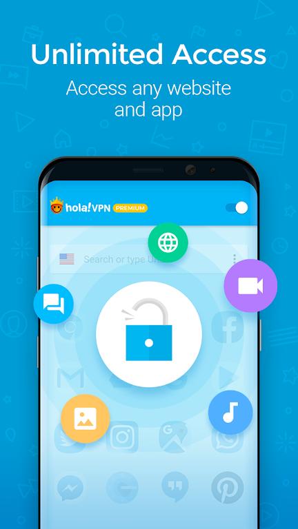 Hola VPN Proxy Plus  poster 1