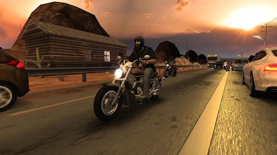 Racing Fever: Moto screenshots apk mod 3