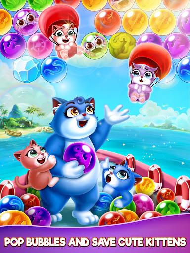 Cat Pop Island: Bubble Shooter Adventure 8.5 screenshots 19