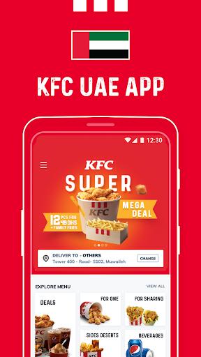 KFC UAE (United Arab Emirates)  Screenshots 1