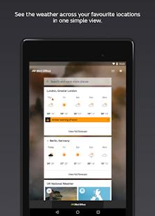 Met Office Weather Forecast 2.10.0 Screenshots 7