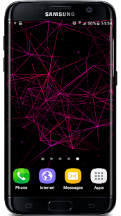 Particles Plexus FX Wallpaper Screenshot