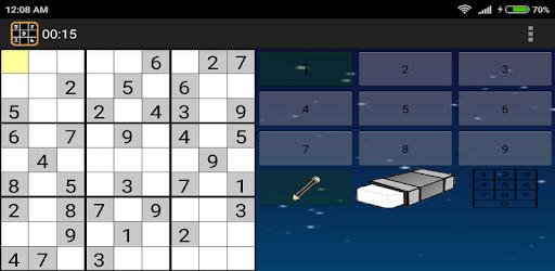 Screenshot of Sudoku Ultimate PRO(No Ads)- Offline sudoku puzzle