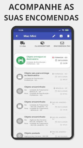 Rastreador - Rastreio de Encomendas via Correio apktram screenshots 1