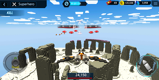 BlockAircraft-Space 2.19.5 screenshots 6
