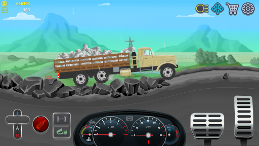 Trucker Real Wheels - Simulator apkpoly screenshots 4