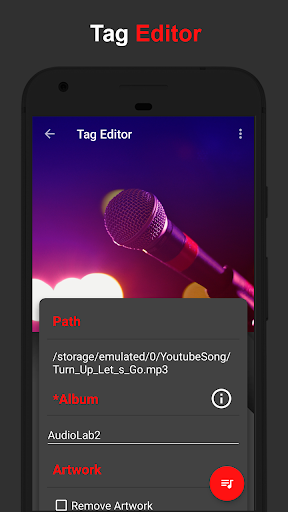 AudioLab ud83cudfb5 Audio Editor Recorder & Ringtone Maker 1.1.6 Screenshots 8