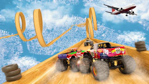 Mega Ramp Monster Truck Driving Stunts Racing Game 2.0.11 screenshots 5