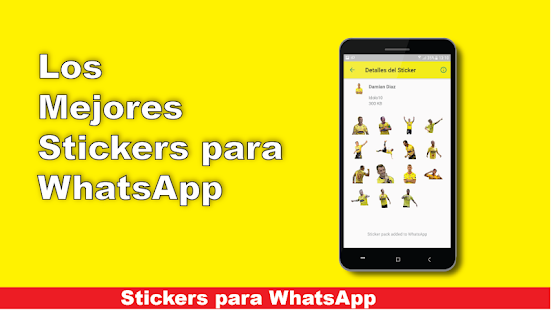 Stickers del Idolo del Ecuador - Barcelona Screenshot