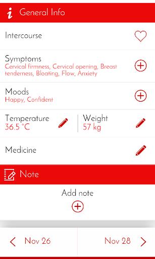 Period Tracker & Diary  Screenshots 3