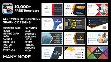 Business, Visiting Card Maker & Designer