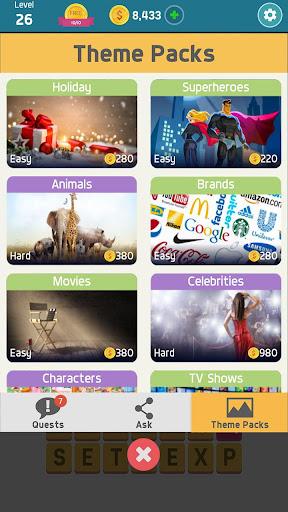 Pictoword: Fun Word Games & Offline Brain Game 1.10.14 Screenshots 5