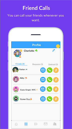 BlindID: Find Friends, Meet New People, Chat android2mod screenshots 4