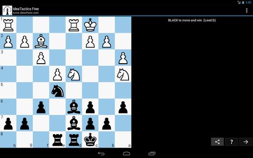 Chess tactics puzzles | IdeaTactics 1.17 screenshots 8