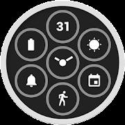 Wear OS by Google için Bits Saat Yüzü