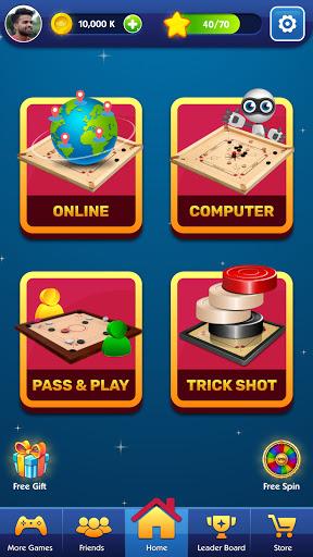 Carrom Board Club - Play Online Pool Friends Game  screenshots 1