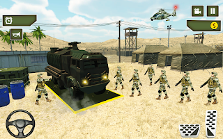 Army Truck Driving USA Simulator 3D Military games