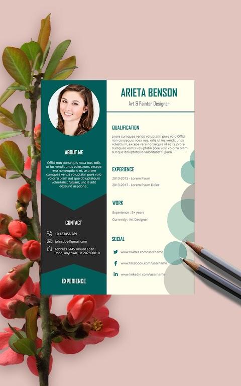 Resume Template, Resume Writer & Cover Letter  poster 10