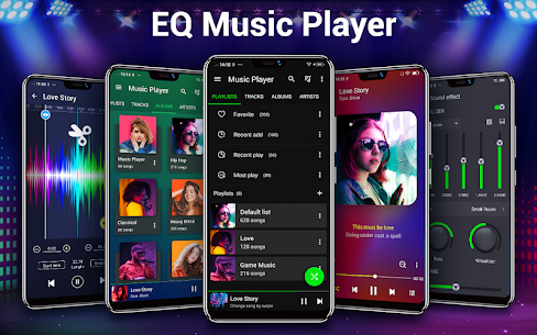 Music Player – Bass Booster – Free Download 1.9.1 Android Mod APK 1