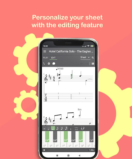 Melody Scanner - Audio to Sheet Music ud83cudfb9ud83cudfb5 modavailable screenshots 6