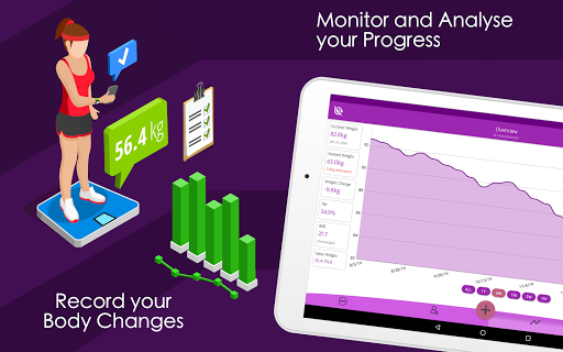 Weight Diary - Weight Loss Tracker, BMI, Body Fat 3.6.0.1 Screenshots 8