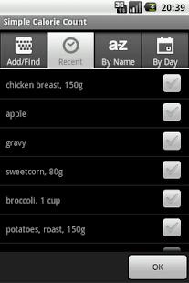 Simple Calorie Count