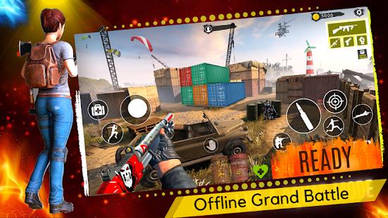 3D Squad Free Fire Battleground Team Shooter 2021 1.8 Screenshots 8