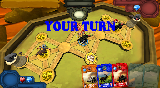 dino king - card battle screenshot 1