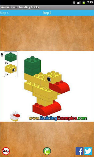 Animals with building bricks  screenshots 3