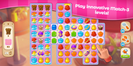 Grand Cafe Storyuff0dNew Puzzle Match-3 Game 2021 2.0.26.1 screenshots 20
