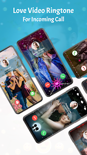 Love Video Ringtone for Incoming Call APK Download 1