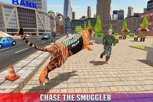 Police Tiger Chase Simulator: City Crime Apkfinish screenshots 11