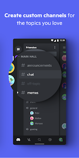 Discord - Talk, Video Chat & Hang Out with Friends 82.20 - Stable Screenshots 3