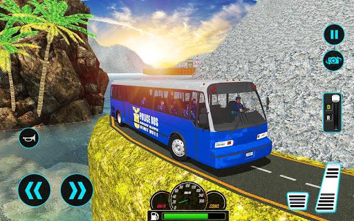 US Police Bus Mountain Driving Simulator  screenshots 6