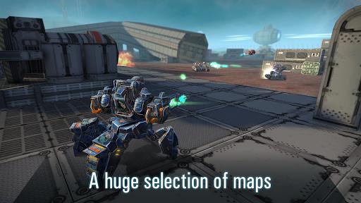 Robots VS Tanks: 5v5 Tactical Multiplayer Battles apktram screenshots 3