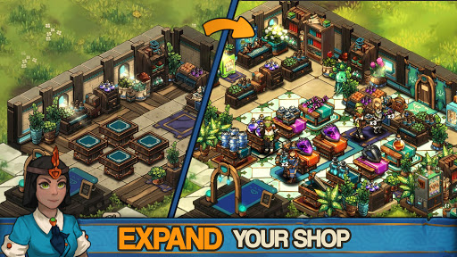 Tiny Shop: Cute Fantasy Craft, Design & Trade RPG  screenshots 3