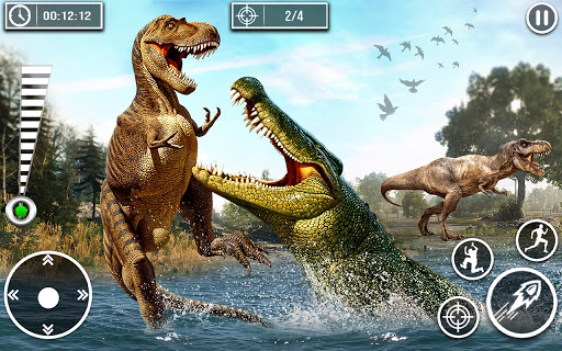Wild Dinosaur Hunting Games 1.32 Screenshots 4