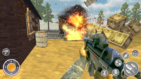 Gun Strike 3d Shooter: Special Commando Shooting Hack Cheats (iOS & Android) 1
