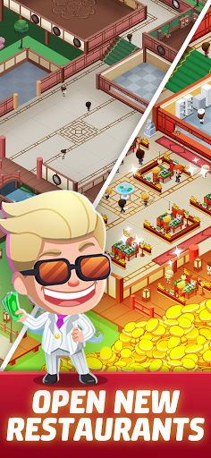 Idle Restaurant Tycoon - Build a cooking empire 1.1.1 screenshots 4